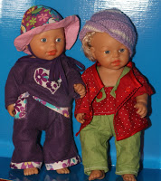 Puppen – Modenschau