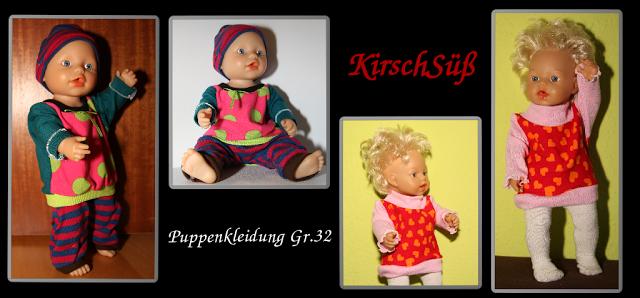 Puppenkleidung und Leggins