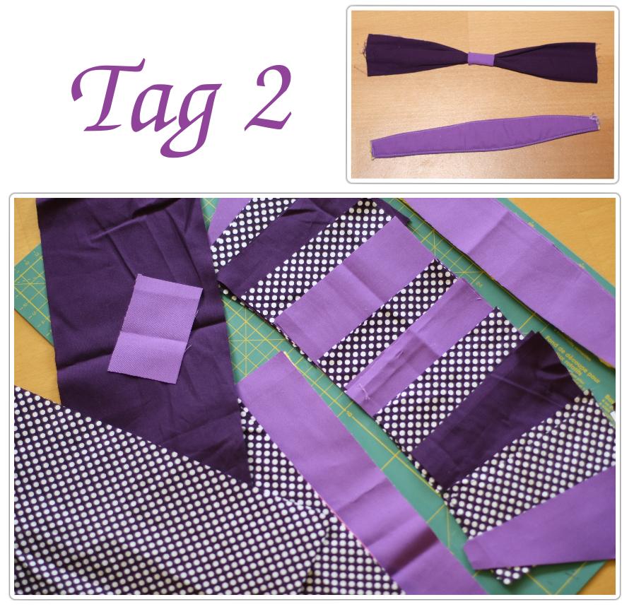 Sew along Tag 2+3